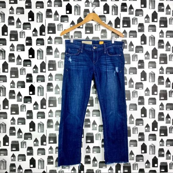 Pilcro and the Letterpress Denim - Pilcro & Letterpress | Anthropologie Raw Hem Jeans